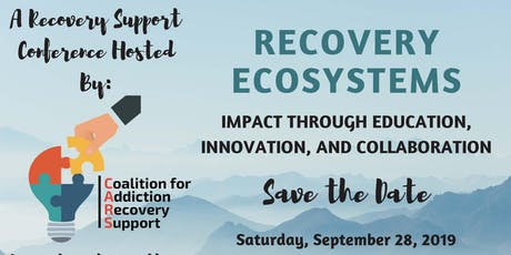 Recovery Ecosystems: Impact Through Education, Innovation and Collaboration tickets