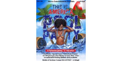 This Is America Pool Party