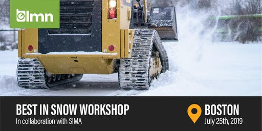 Best in Snow Workshop - Boston, MA