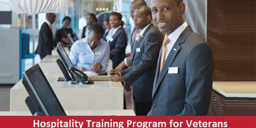 Hospitality Training Program for Veteran Recruitment Event