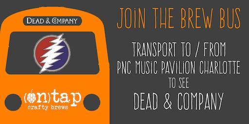 Brew Bus Transportation to Dead & Company