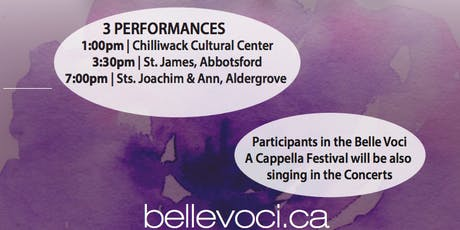 Belle Voci A Cappella Festival tickets