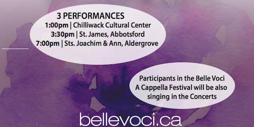 Belle Voci A Cappella Festival
