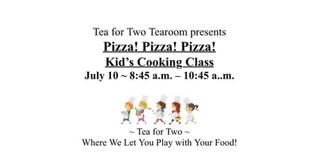 Pizza! Pizza! Pizza Kid's Cooking Class tickets