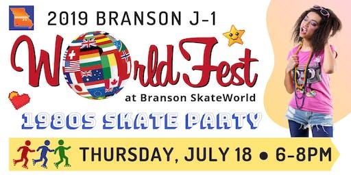 2019 J-1 WorldFest: 1980s Skate Party