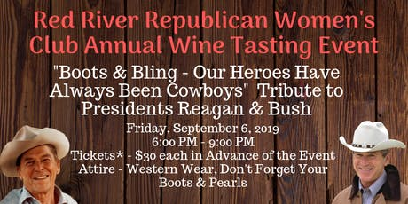 Red River Republican Women's Club Annual Wine Tasting Event tickets
