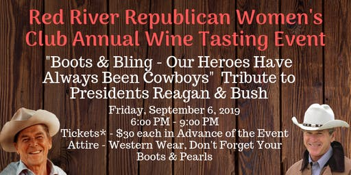 Red River Republican Women's Club Annual Wine Tasting Event