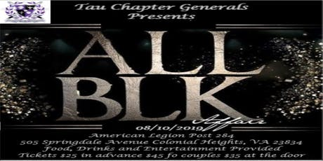 Tau Chapter Generals Present The All Black Affair tickets