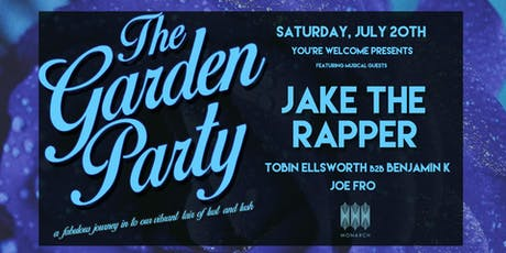 The Garden Party with Jake The Rapper tickets