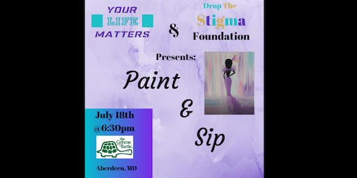 Drop the stigma Paint & Sip Fundraiser