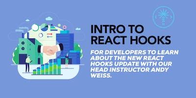 Intro to React Hooks