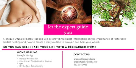 Holistic Wellness 101 - Womb Healing tickets
