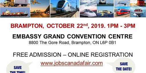 Brampton Transportation Job Fair – October 22nd, 2019