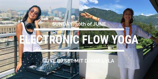 Electronic Flow Yoga inkl. live DJ Set