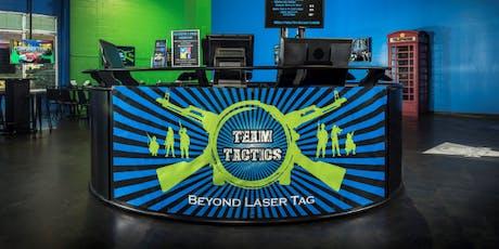 Quantico Single Marine Program (SMP) Team Tactics Laser Tag  tickets
