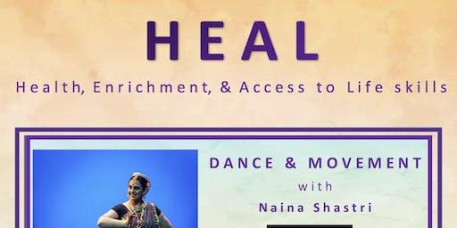 Dance & Movement with Naina Shastri