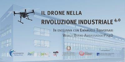 Il drone nella rivoluzione industriale 4.0 - Friuli V. Giulia