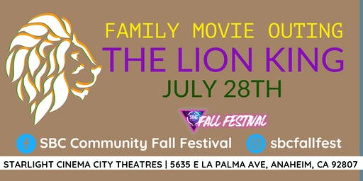 Family Movie Outing - The Lion King