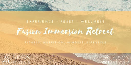 Lowcountry Fusion Immersion Retreat