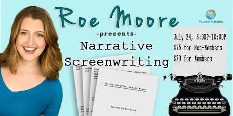 Narrative Screenwriting Bootcamp tickets