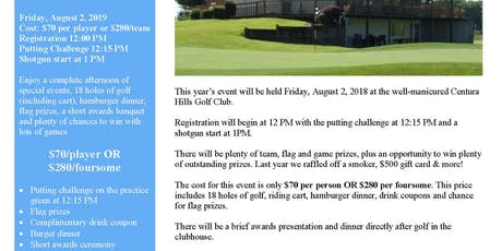 12th Annual SUNHEAT Open Golf Tournament tickets