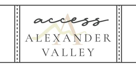 Access Alexander Valley tickets