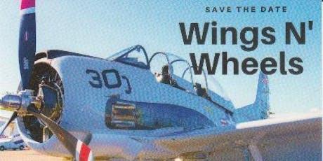 Wings N' Wheels tickets