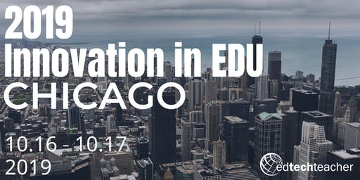 Innovation in Learning Conference- Chicago 2019