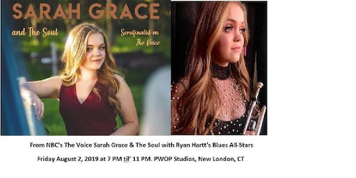 Sarah Grace & the Soul and Ryan Hartt's Blues All-Stars Celebrity MC Cassius Chaney
