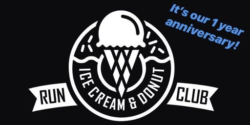 Ice Cream & Donut Run Club 1 Year Celebration