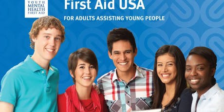 Youth Mental Health First Aid July 17,2019 tickets