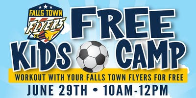 Falls Town Flyers FREE Kids Camp!