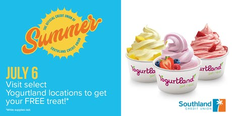FREE Yogurtland from the Official Credit Union of Summer - Santa Monica tickets