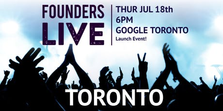 Founders Live Toronto tickets