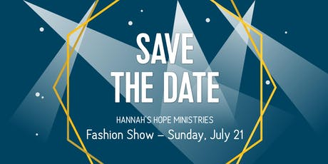 From The Heart Consignment Fashion Show to Benefit Hannah's Hope Ministries tickets