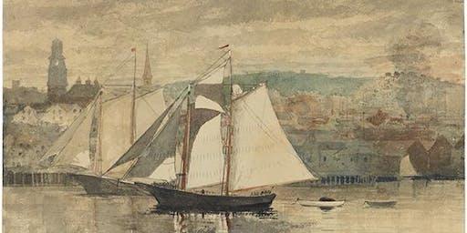 """Homer Sunset Sail on the """"Lannon"""""""