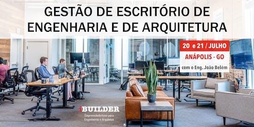 GESTÃO DE ESCRITÓRIO DE ENGENHARIA E DE ARQUITETURA