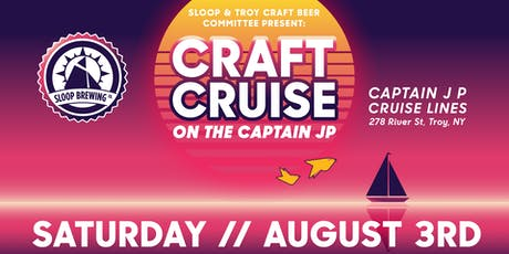 Sloop & TCBC Present: Craft Cruise on the Capt. JP III tickets