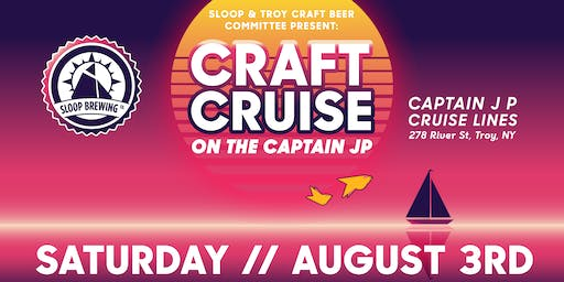 Sloop & TCBC Present: Craft Cruise on the Capt. JP III