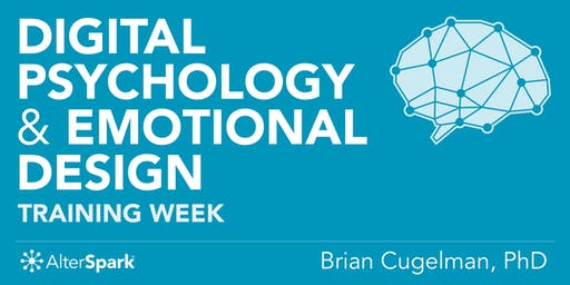 Digital Psychology & Emotional Design - Training Week (Vancouver)