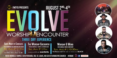 "EVOLVE ""Worship Encounter"" tickets"