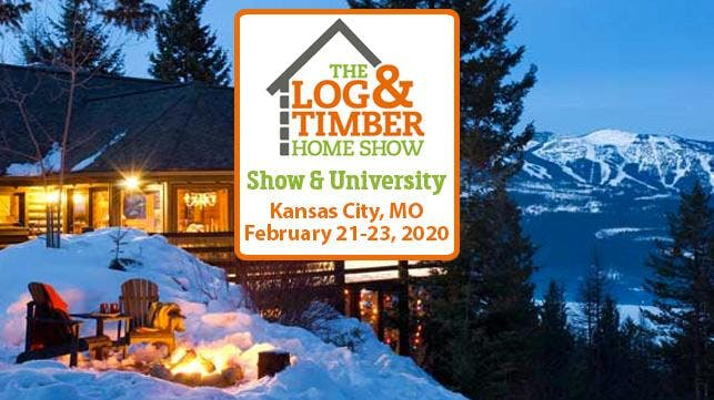 Kansas City Home Show 2020.Kansas City Mo 2020 Log Timber Home Show At Kci Expo