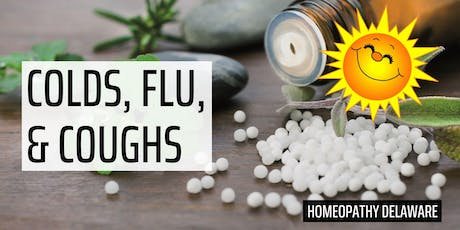 Homeopathy for Colds, Flu, and Coughs tickets