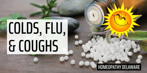 Homeopathy for Colds, Flu, and Coughs