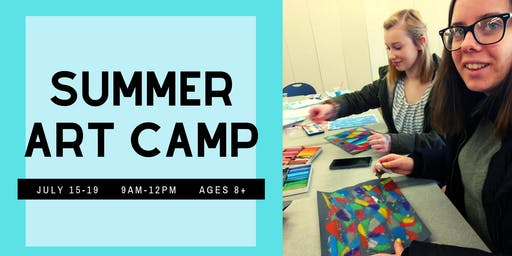 Summer Art Camp at Studio18