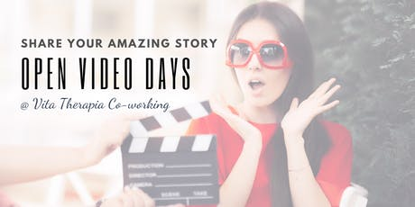 Share Your Amazing Story - Film Day @ Vita Therapia Co-working tickets