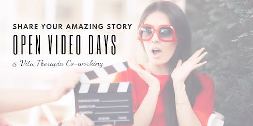 Share Your Amazing Story - Film Day @ Vita Therapia Co-working