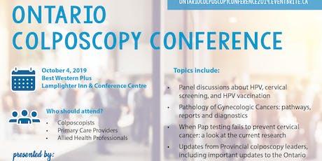 Ontario Colposcopy Conference tickets