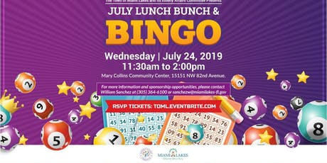 Lunch Bunch and Bingo-July 24th  tickets