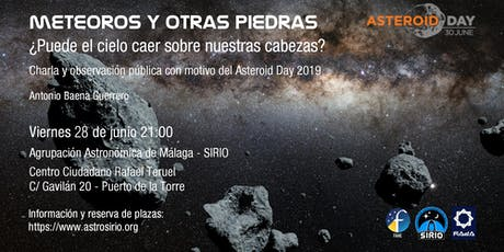 Asteroid Day 2019 tickets